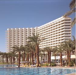 חזית מלון דיוויד דד סי - Front of David Dead Sea Hotel