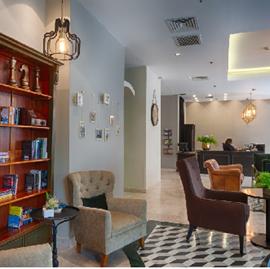 מלון אלדן - לובי - Eldan Hotel - Lobby