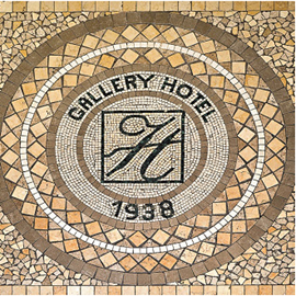 מלון גלרי - לוגו - Gallery Hotel - Logo