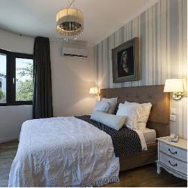 מלון אולימפיה - חדר שינה - Olympia Hotel - Bedroom
