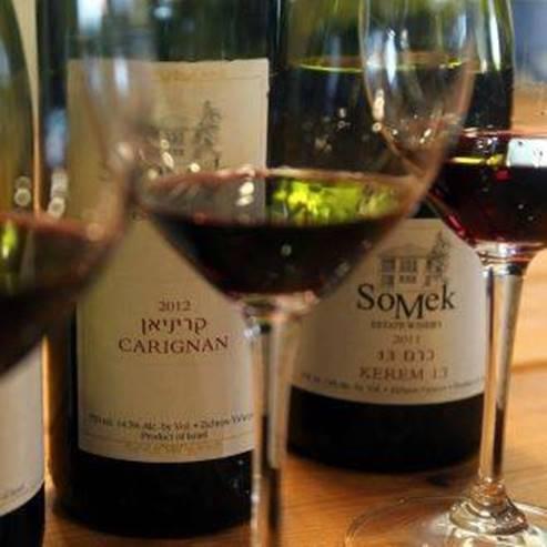 יינות של יקב סומק - Somek Winery wines