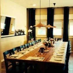 שולחן ערוך ביקב  - Arranged Table in winery