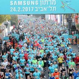 קו הזינוק מרתון סמסונג 2017