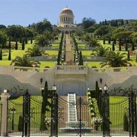 הגנים הבאהיים חיפה - Bah?'? Gardens in Haifa