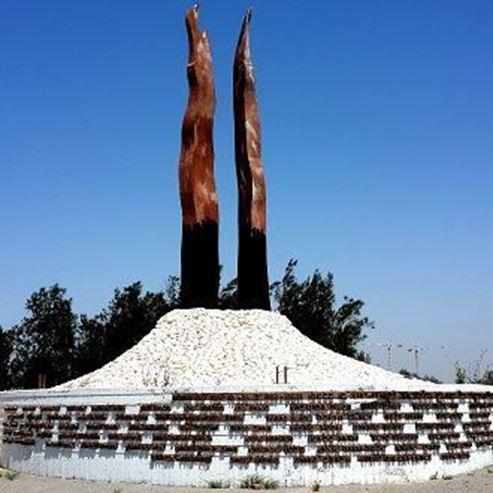 "אנדרטת פ""ז-קריית גת - The PZ-Kiryat Gat Monument"