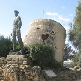 פסל במהלך הסיור - Statue during the tour