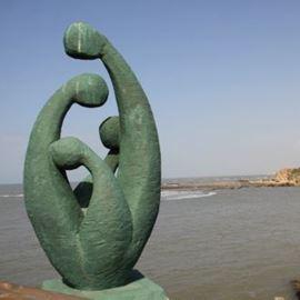 פסל בנקודה במהלך הסיור - Statue on point during the tour