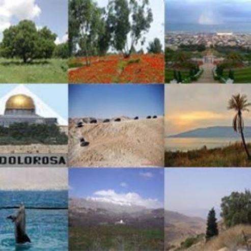 כל מני נופים מהסיור - All sorts of landscapes from the tour