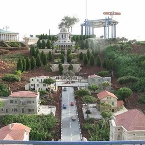 נופי ישראל במיני ישראל - The landscapes of Israel in Mini Israel