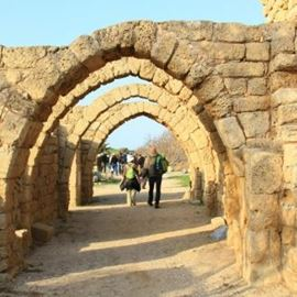 קשתות בקיסריה - Arches in Caesarea