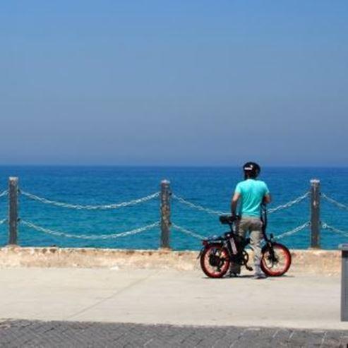 אופניים וים - Bicycle and sea