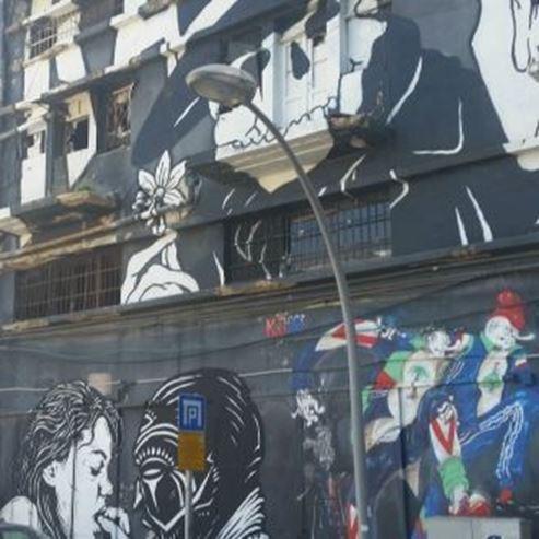 גרפיטי בחיפה - Graffiti in Haifa