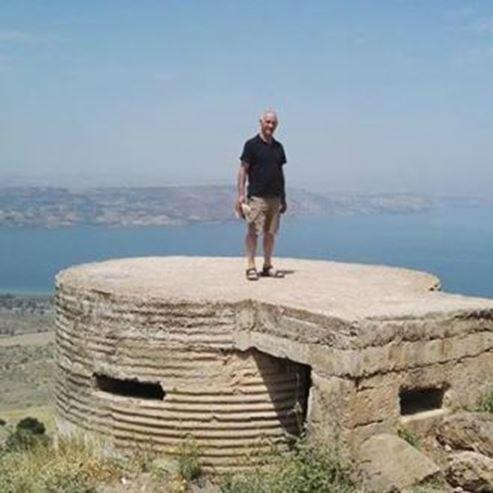 מדריך הסיור בעין תאופיק - Tour guide in Ein Tawfik