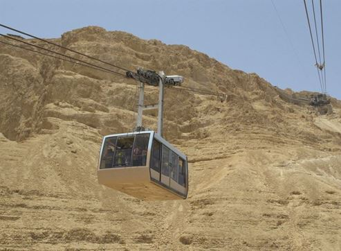 Picture of Dead Sea, Tel Aviv and Jerusalem on Israel trip with Pegasus Airlines and the Israeli Ministry of Tourism