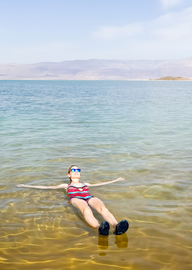 תמונה של Discovering the Dead Sea – Salt, Skin Care, and Spas