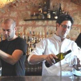 בר היין במסעדה - Wine Bar at the restaurant