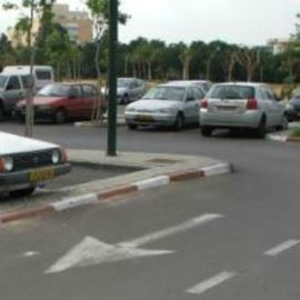 חניון תל ברוך  - Tel Baruch Parking lot