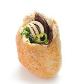 סביח בפיתה - Sabih in pita bread