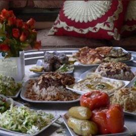 מאכלים מהאירוח הדרוזי - Food from Druze hospitality