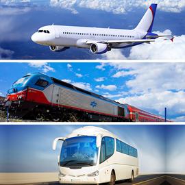 אוטובוס, רכבת, מונית - Bus, Train, Taxi