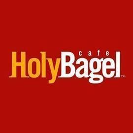 לוגו הולי בייגל -  Holy Bagel Logo