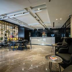 לובי מלון  גולדן קראון חיפה - Lobby Golden Crown Haifa Hotel