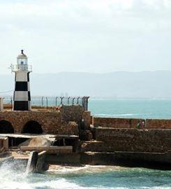 מגדלור עכו בשעות היום - Acre Lighthouse during the day