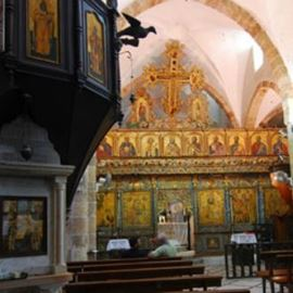 כנסיית סן אנדרס מבפנים - Church of San Andres interior