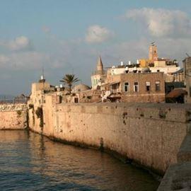 תמונה של חומות עכו העתיקה - Picture of the walls of Old Acre