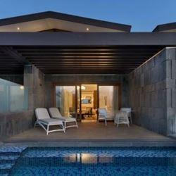 מרפסת  חדר במלון סטאי - Terrace at Hotel Stay