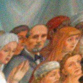 ציור של האדריכל אנטוניו ברלוצי - Painting by Architect Antonio Barluzzi