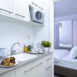 מלון ארצפת- מטבח - Eretzefat Hotel - Kitchen