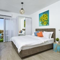 מלון ארצפת- חדר שינה - Eretzefat Hotel - Bedroom