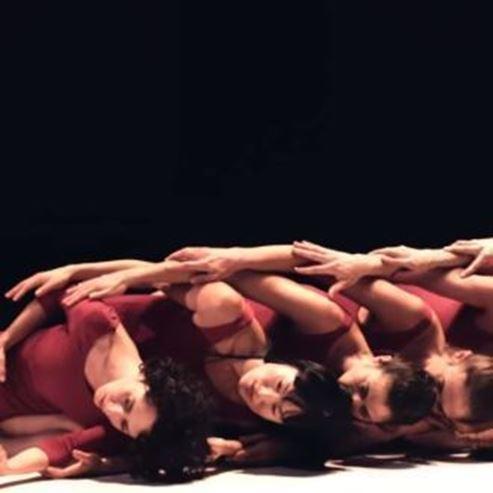 להקת בת שבע במופע - Batsheva Dance Company in act