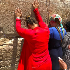 Picture of Mary Mary Goes To Israel