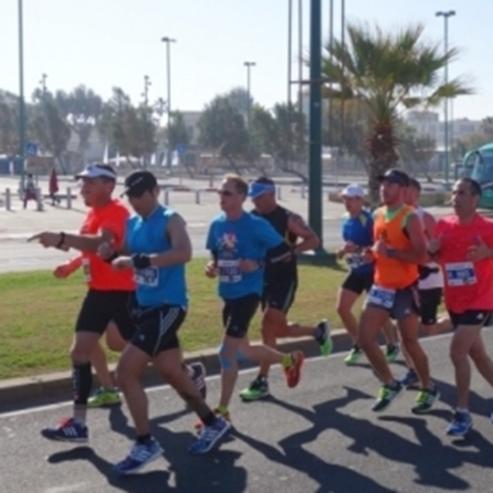 Picture of Tel Aviv: Marathon am Frühlingshügel