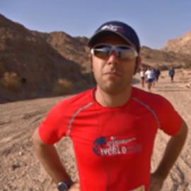 Picture of Daniel Osmanovici şi-a testat limitele la Maratonul Deşertului, în Israel