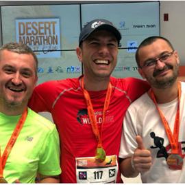 Picture of Daniel Osmanovici şi-a depăşit limitele în maratonul din Israel