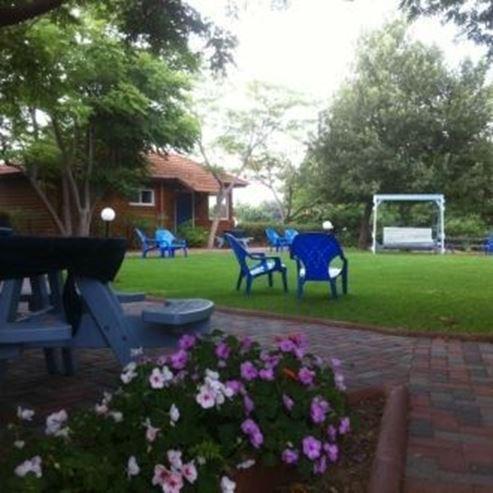 הגינה של הצימר -  The zimer garden