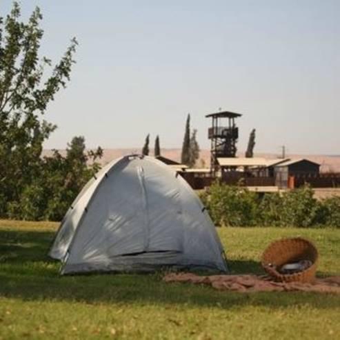 לינת שטח - Camping