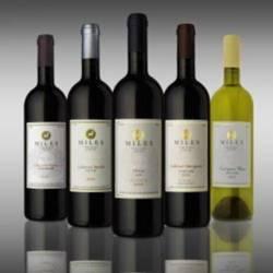 יינות יקב מילס - Wine bottles of Mils Winery