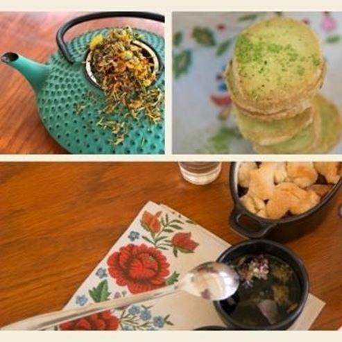 תה ואוכל - Tea and food