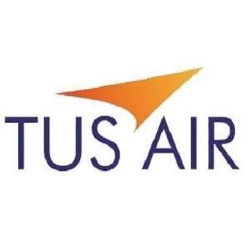 טוס אייר לוגו - TUS Airways Logo