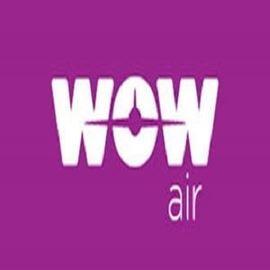 לוגו ואו אייר - Logo WOW air