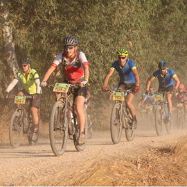 Bild von Calf Burn: Canadian Steps up to Podium a 260 km Stage Race in Israel