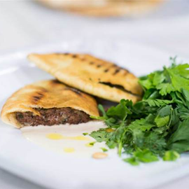 Picture of Pita Stuffed with Meat (Arayes)