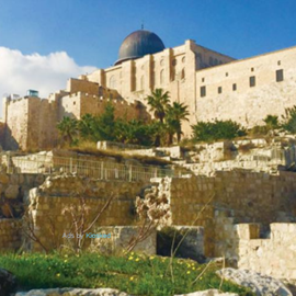 Picture of Crossing the border to the Holy City-Jerusalem