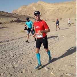 Изображение Daniel Osmanovici și-a depășit limitele în maratonul din Israel