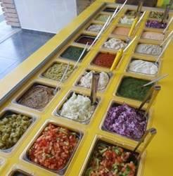 A dish in Shnitzel 20 Teamim Hod HaSharon Restaurant- מנה במסעדת שניצל 20 טעמים הוד השרון