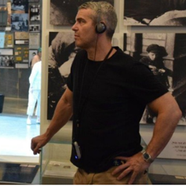 Picture of TV Host Andy Cohen Urges More Holocaust Education After Visit to Israel's Yad Vashem